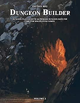 Dungeon Builder  Dungeon Maker with 50 Premade Dungeon Maps for Tabletop Roleplaying Games  Volume 2