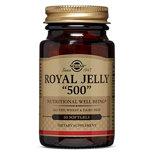 "Solgar - Royal Jelly ""500"" Supplement, 60 Softgels"