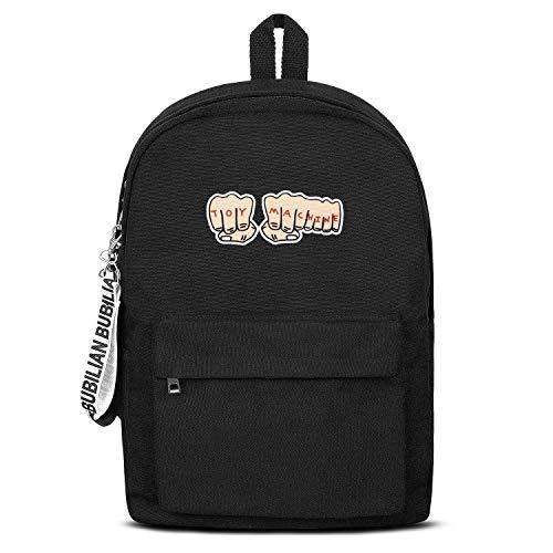 Toy-Machine- Backpack Casual Durable Convas School Bag For Women & Men