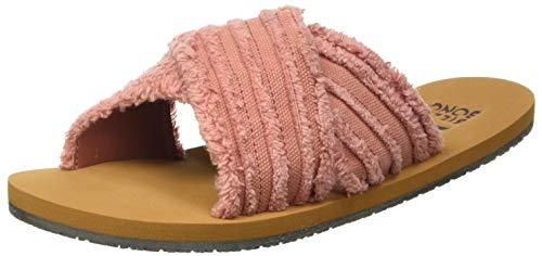 Billabong Women's Heeled Sandals, Pink, 5.5