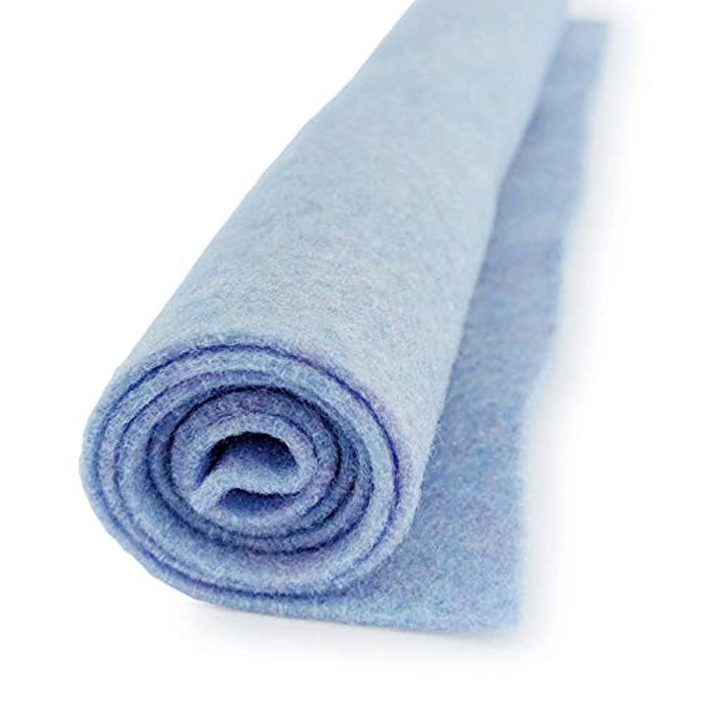 Newport Blue Earthy Pastel - Premium Acrylic Felt XL Craft Sheet