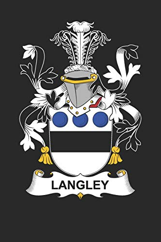 Langley: Langley Coat of Arms and Family Crest Notebook Journal (6 x 9 - 100 pages)