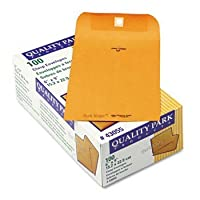 品質ParkTM公園RidgeTM Claspクラフト封筒封筒、CLSP、6x 9、KFT 36678(パックof6)