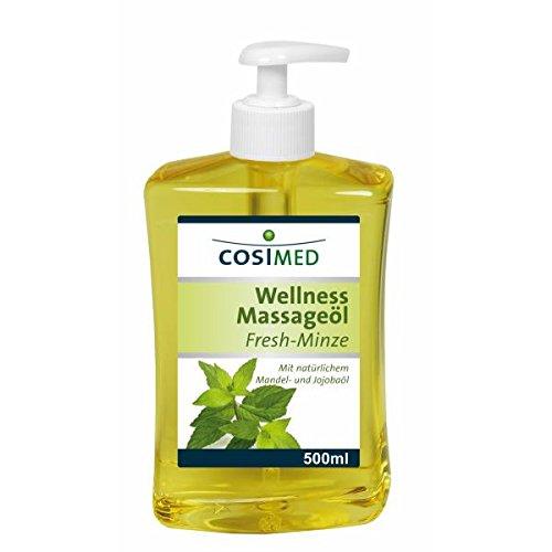 cosiMed Wellness Massageöl Fresh-Minze 500 ml