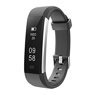 Letsfit Fitness Tracker, IP67 Waterproof Activity Tracker with Pedometer Step Counter Watch and Sleep Monitor Calorie Counter Watch, Slim Smart Bracelet for Kids Women Men from Letsfit