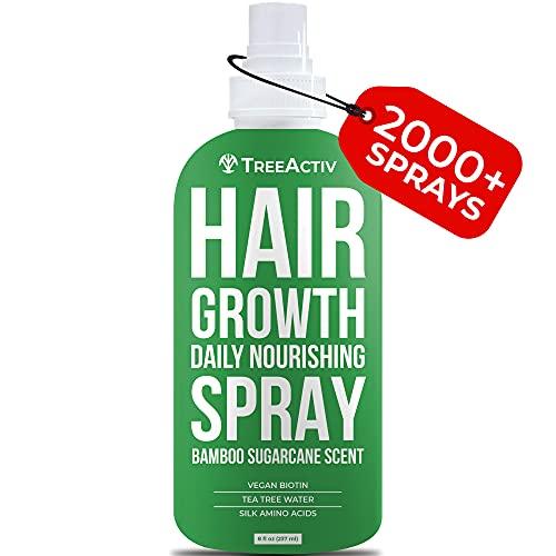TreeActiv Hair Nourishing Spray, Natural Leave-in Conditioner