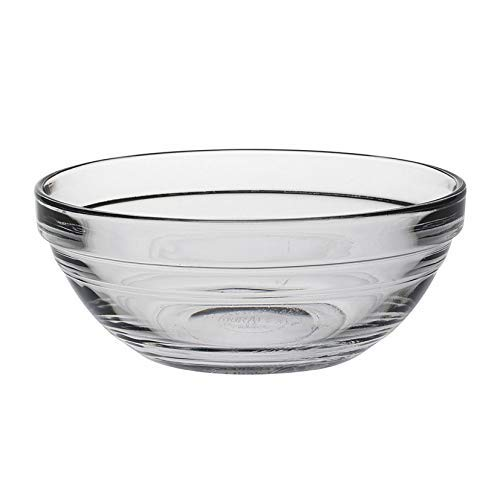 Duralex - Lys Stackable Clear Bowl 12 cm (4 3-4 in) Set Of 6