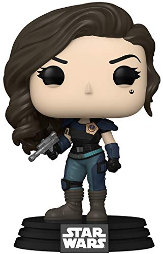 Funko- Pop Star Wars: The Mandalorian-Cara Dune Figura Coleccionable, Multicolor (50961)
