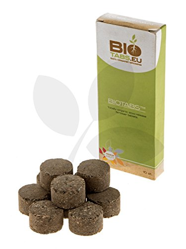 10x Tabletas de Abono / Fertilizante 100% Orgánico NPK BioTabs