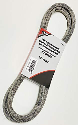 OEM-Duplikatriemen (mit Kevlar) ersetzt 429636, 532429636, 197253, 532197253 Craftsman Poulan Husqvarna
