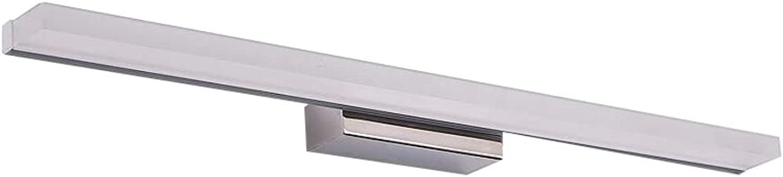 GXIAO Spiegelleuchten LED Spiegellicht 7W-14W weies Licht Warmes Licht Wasserdicht und Anti-Beschlag Sicherheit Energiesparen (Farbe   Weies Licht, gre   40cm)