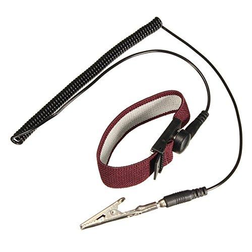 MASUNN Anti Statische Esd Verstelbare Polsband Ontlading Band Grond Armband Elektronisch