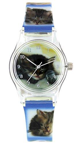 Pacific Time Mädchen Uhr Analog Quarz mit Kunststoffarmband 201631