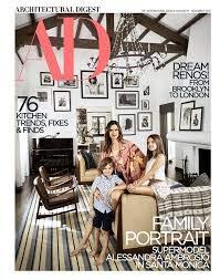Architectural Digest Magazine (November 2018) Alessandra Ambrosio Cover