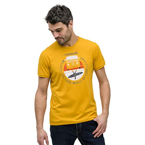 OxbOw TOKEL T-Shirt Homme, Golden, FR (Taille Fabricant : XL)