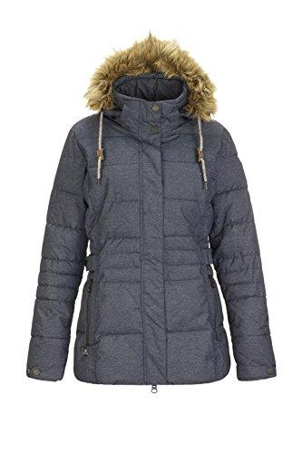 G.I.G.A DX Adda Veste à capuche zippée Femme Jean Foncé FR : M (Taille Fabricant : 40)