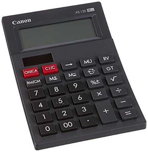 Calculadora sobremesa Canon AS-120 Negra