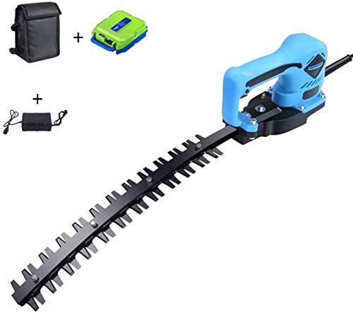 Hedge Trimmer eléctrico, de uso manual individual recargable Tijeras cortasetos, 36.5cm Longitud de la lámina, (12ah batería de litio) (Color : Machete)
