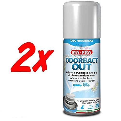 H.T. 2X ODORBACT Odor bact igienizzante condizionatori Auto Macchina