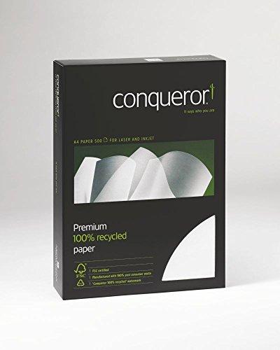 Conqueror hochwertiges Papier, A4, diamantweiß, 500 Blatt (100 g/m²)