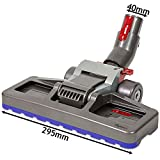Brosse double position Diamètre: ø 40 mm tapis & sols durs - Aspirateur traîneau Big Ball - Dyson Big Ball Animal, Animal Plus, MultiFloor, Total Clean, Up Top, Parquet.