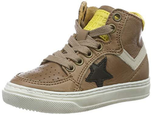 Bisgaard Jungen Isak Hohe Sneaker, Braun (Light Brown 302-2), 24 EU