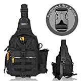 BLISSWILL Fishing Backpack Outdoor Tackle Bag Large Fishing...