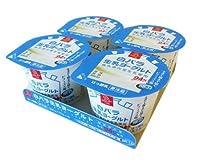 白バラ 生乳ヨーグルト/(70g×4個) ×6パック/24コ入 /クール便