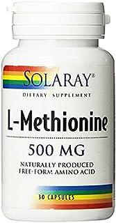 LMethionine Free Form Amino Acid 500 MG (30 Capsules)