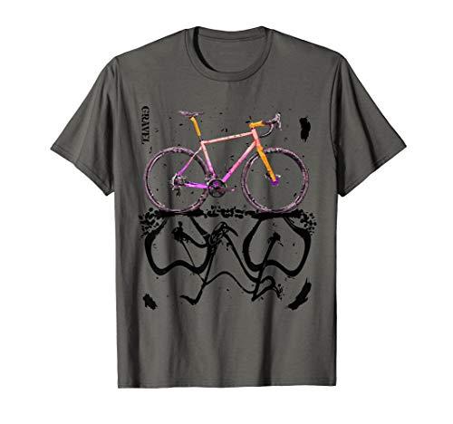 Herren Gravel Bike - Cyclocross und Rennrad fahren T-Shirt