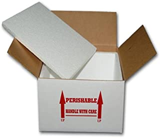 12x12x10 INSULATED SHIPPING BOX W/ 1/2