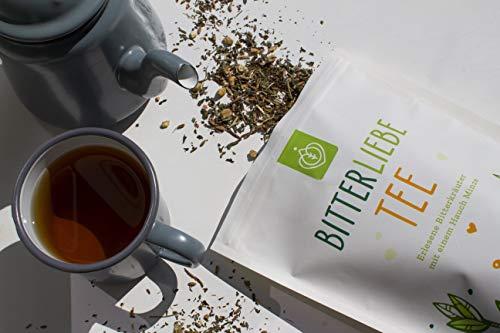 BitterLiebe® Kräutertee lose 100g mit der Kraft der Bitterstoffe - 3