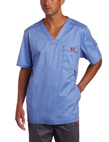 2. Dickies Flex Generation V-Neck Utility Scrub Shirt