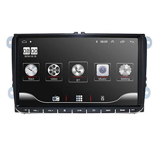 Auto Multimedia System Stereo Radio 1080 P Video Player mit Android 10 OS RAM 2 GB + ROM 32 GB für Volkswagen/Skoda/Seat Unterstützung GPS Bluetooth Spiegel-Link USB WiFi 4G SWC AM/FM RDS DSP DVR