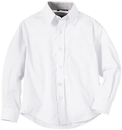 G.O.L. Jungen Hemd mit Kentkragen, Einfarbig, Gr. 176, WeiÃY