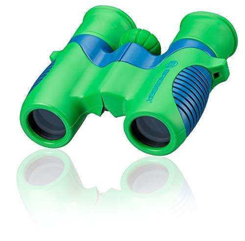 Bresser junior Kinderfernglas 6x21 für Kinder mit Mitteltriebfokussierung und robustem gummiarmiertem Fernglaskorpus inklusive Gürteltasche und Trageschlaufe