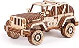 Maqueta de madera 3D mecánica, juego de construcción de coche, puzzle de madera, montaje, constructor, teaser, engranaje DIY Bundle