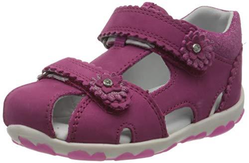 Superfit Baby Mädchen FANNI Sandalen, Pink (Rosa 55), 21 EU