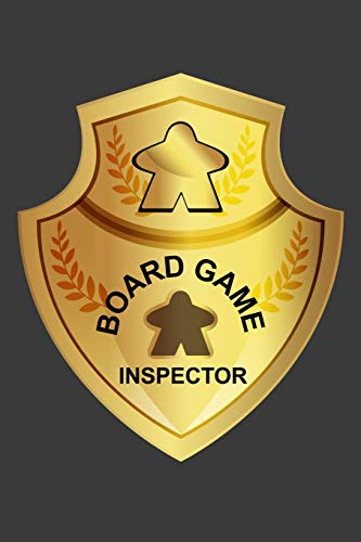 Board Game Inspector: Blank Lined Journal