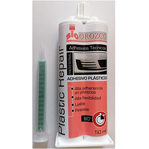 Suministros Orozco, s.l. Adhesivo Bicomponente para Reparacion de Plasticos 50ml.