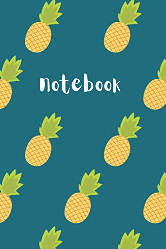 Notebook: 6'x9' Journal 120 Pages White Lined Paper