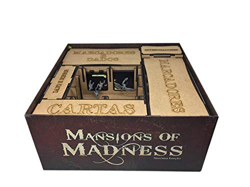 Organizador (Insert) para Mansions of Madness - Bucaneiros Jogos