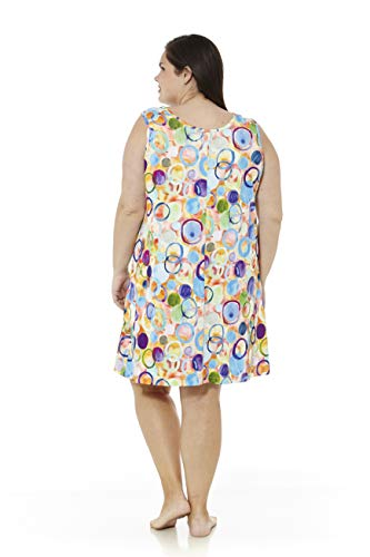 mabel intima Vestidos Mujer Talla Grande Vestido Talla Grande Casual con Tirantes Vestido Talla 58