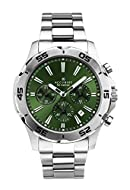 Band Colour Silver Band Width 24 Dial Colour Green Water Resistant Up To 50M 2 Years Manufacturer Guarantee