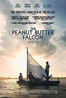 """THE PEANUT BUTTER FALCON - 13.5""""X20"""" Original Promo Movie Poster 2019 Shia LaBeouf"""
