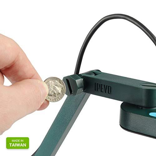 IPEVO ziggi-hd High-Definition USB-Dokumentenkamera