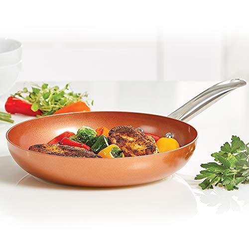 Copper Chef Non-Stick Fry Pan, 8 Inch