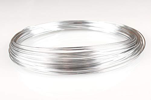 Creacraft Fil Aluminium pour Perlage et Bijoux (2mm, 10)