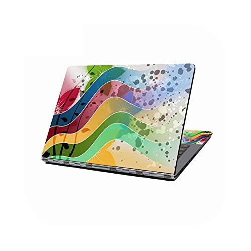 Peach-girl - Adhesivo decorativo para ordenador portátil de 10 a 17 pulgadas