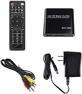 ORIGIN 極小型マルチメディアプレーヤー 日本語 英語 1080P再生可能 HDMI、AV出力 SDカード USB HDD映像データー簡単再生MP200 (ブラック) [並行輸入品]